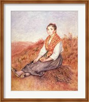 Woman with a bundle of firewood, c.1882 Fine Art Print