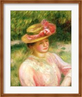 The Straw Hat, 1895 Fine Art Print