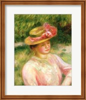 The Straw Hat, 1895 Fine Art Print