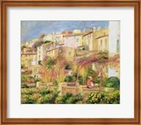 Terrace in Cagnes, 1905 Fine Art Print