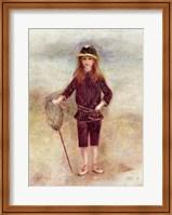 The Little Fisherwoman Fine Art Print