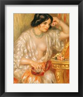 Gabrielle with Jewellery, 1910 Fine Art Print