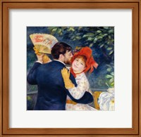 A Dance in the Country, 1883 - upclose Fine Art Print