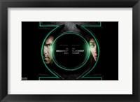 Green Lantern - symbol Fine Art Print