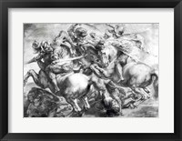 The Battle of Anghiari after Leonardo da Vinci Fine Art Print