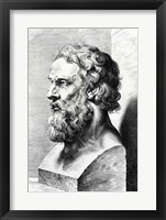 Bust of Plato Fine Art Print