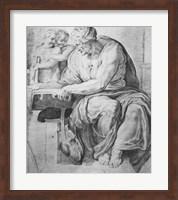 The Cumaean Sibyl, after Michangelo Buonarroti Fine Art Print