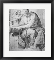 The Cumaean Sibyl, after Michangelo Buonarroti Fine Art Print