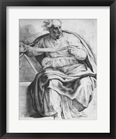 The Prophet Joel, after Michangelo Buonarroti Fine Art Print