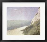 Beach at Bas Butin, Honfleur, 1886 Fine Art Print