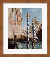 Grand Canal, Venice, 1875 Fine Art Print