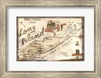 Greetings from Long Island Fine Art Print