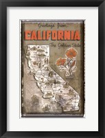 Greetings from California Fine Art Print