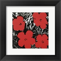 Flowers (Red), 1964 Fine Art Print