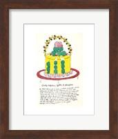 Wild Raspberries by Andy Warhol and Suzie Frankfurt, 1959  (yellow and green) Fine Art Print