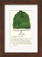 Wild Raspberries by Andy Warhol and Suzie Frankfurt, 1959  (green) Fine Art Print