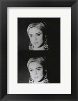 Screen Test: Edie Sedgwick, 1965 Fine Art Print