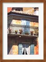 Iron Balcony, Italy Fine Art Print