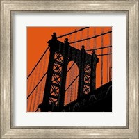 Orange Manhattan Fine Art Print