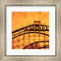 Flaming Cyclone Fine Art Print