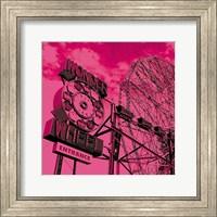 Cotton Candy Wonder Wheel Fine Art Print