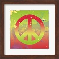 Outtasight Peace Fine Art Print