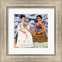 The Two Fridas, 1939 Fine Art Print