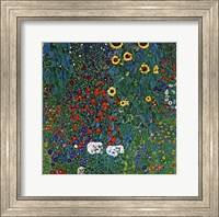 Farm Garden with Sunflowers, around 1905/1906 Fine Art Print
