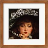 Lady in a Boat (detail) Fine Art Print