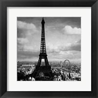 The Eiffel Tower, Paris France, 1897 Fine Art Print