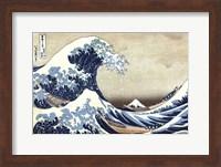 The Great Wave at Kanagawa Fine Art Print