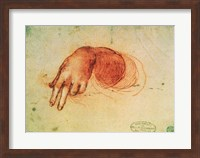 Study of a hand Fine Art Print