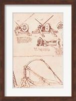 Designs for a Catapult Fine Art Print