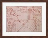Studies of Hydraulic Devices Fine Art Print