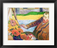 Van Gogh painting Sunflowers, 1888 Fine Art Print