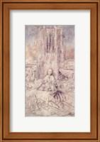 St. Barbara, 1437 Fine Art Print