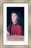Portrait of a Young Man, 1432 Fine Art Print