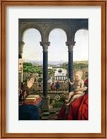 The Rolin Madonna - Detail Fine Art Print