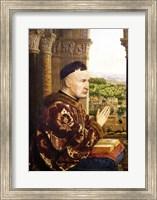 The Rolin Madonna - Left Fine Art Print