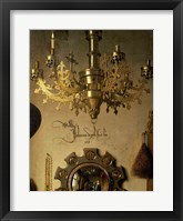The Arnolfini Marriage (chandelier detail) Fine Art Print