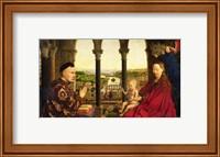 The Rolin Madonna - Panel Fine Art Print