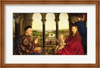 The Rolin Madonna - Panel Fine Art Print