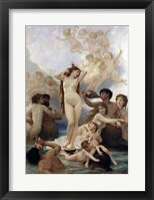 The Birth of Venus, 1879 Fine Art Print