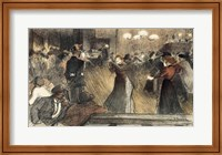 Ball at the Barriere Fine Art Print
