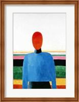 Bust of Woman Fine Art Print