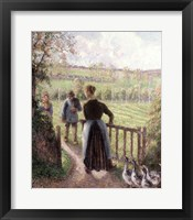 The Woman with the Geese, 1895 Fine Art Print