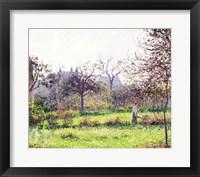 Morning Sun, Autumn, Eragny, 1897 Fine Art Print