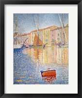 The Red Buoy, Saint Tropez, 1895 Fine Art Print