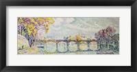 The Pont des Arts, 1928 Fine Art Print