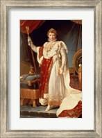Napoleon in Coronation Robes, c.1804 Fine Art Print